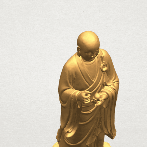TDA0495 The Medicine Buddhav A09.png Download free STL file The Medicine Buddha • 3D print object, GeorgesNikkei