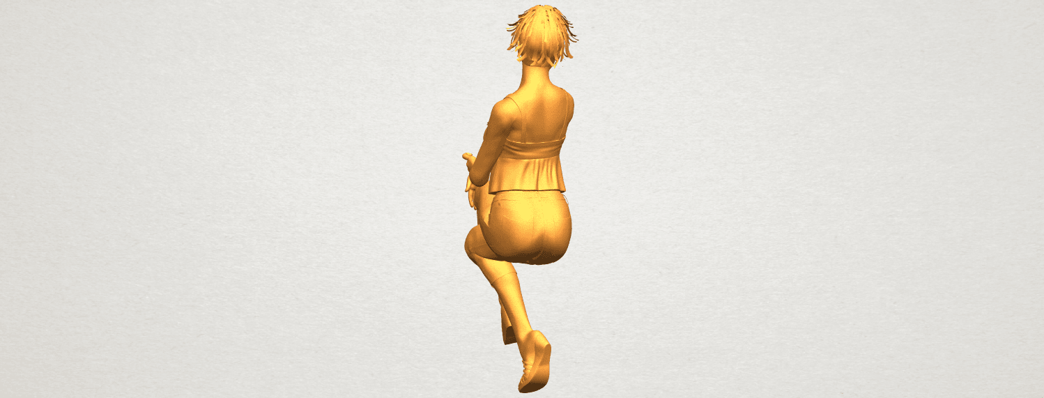 A09.png Download free STL file Naked Girl H06 • Object to 3D print, GeorgesNikkei