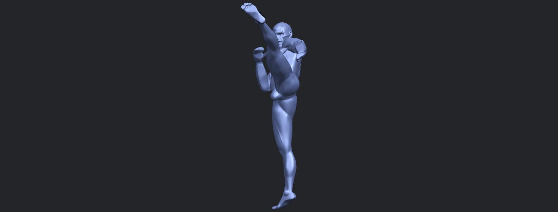 06_TDA0547_Man_KickingB04.png Télécharger fichier STL gratuit Man Kicking • Objet pour impression 3D, GeorgesNikkei
