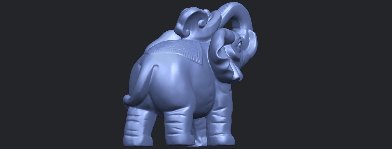 09_Elephant_02_150mmB08.png Télécharger fichier STL gratuit Eléphant 02 • Plan imprimable en 3D, GeorgesNikkei