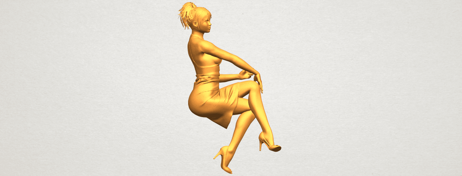 A02.png Download free STL file Naked Girl H04 • 3D printing object, GeorgesNikkei