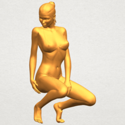 3D file Naked Girl D04, Miketon