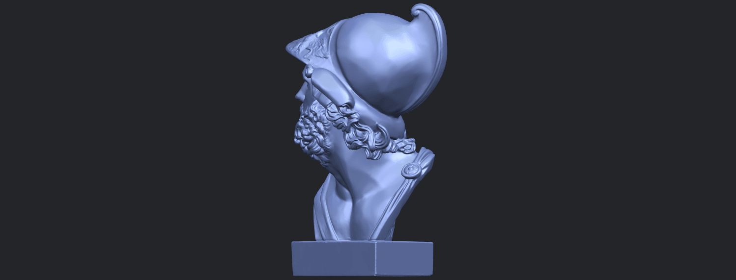 14_TDA0244_Sculpture_of_a_head_of_manB04.png Download free STL file Sculpture of a head of man • 3D printable design, GeorgesNikkei