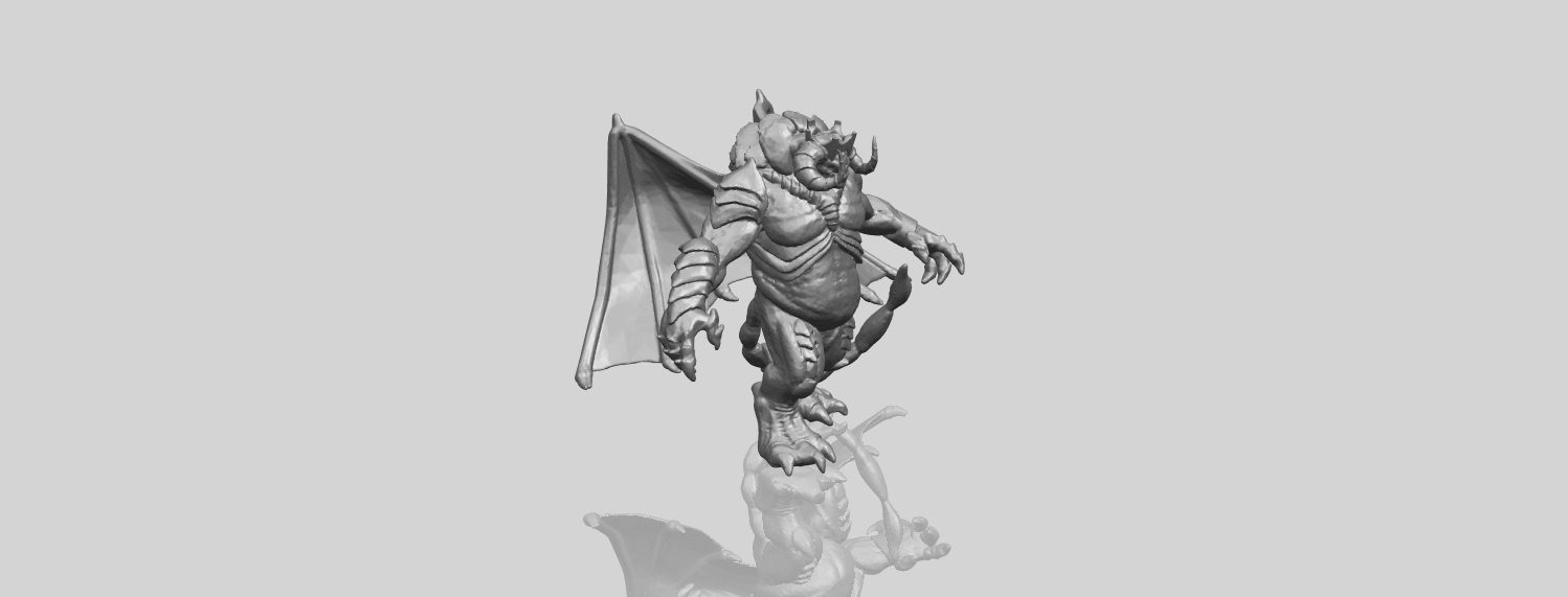 18_TDA0217_Monster_iA00-1.png Download free STL file Monster 01 • 3D printable template, GeorgesNikkei