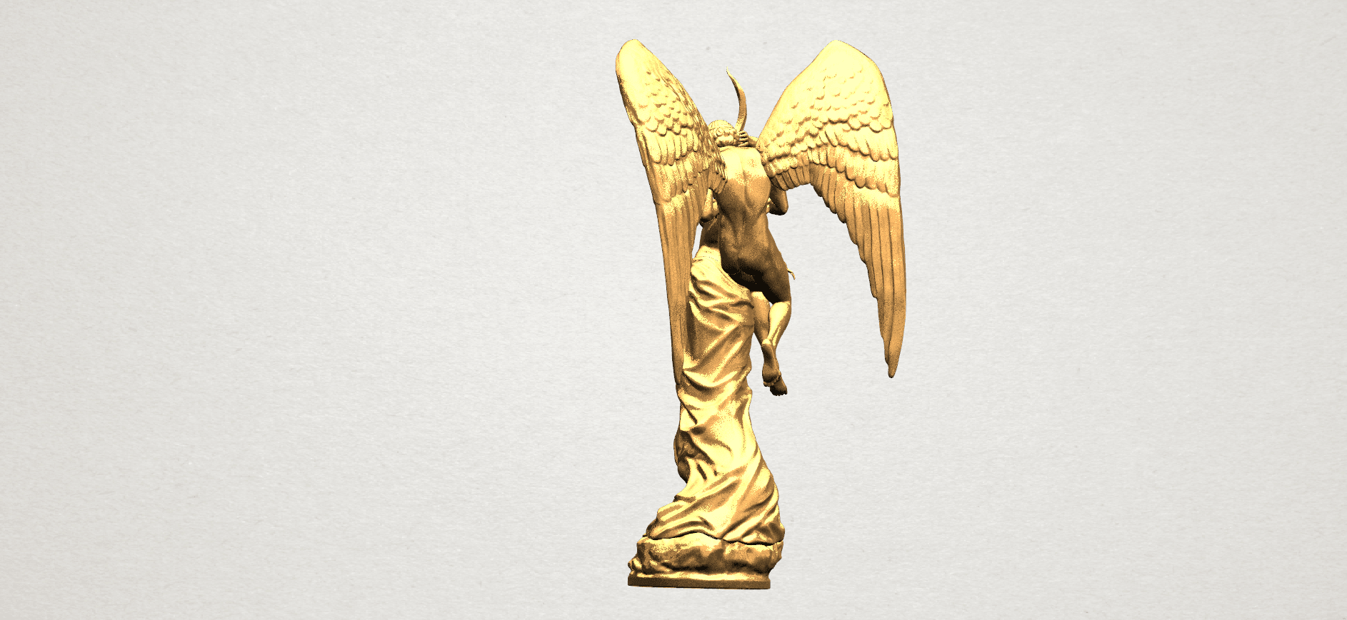 Angel and devil - C03.png Download free 3DS file Angel and devil • 3D print template, GeorgesNikkei