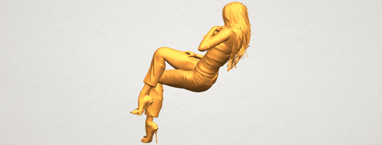 A04.png Download free STL file Naked Girl I05 • Object to 3D print, GeorgesNikkei