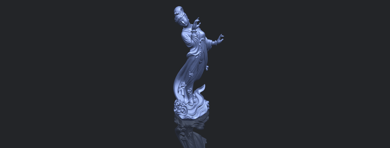 01_TDA0448_Fairy_03B00-1.png Download free STL file Fairy 03 • 3D printable object, GeorgesNikkei