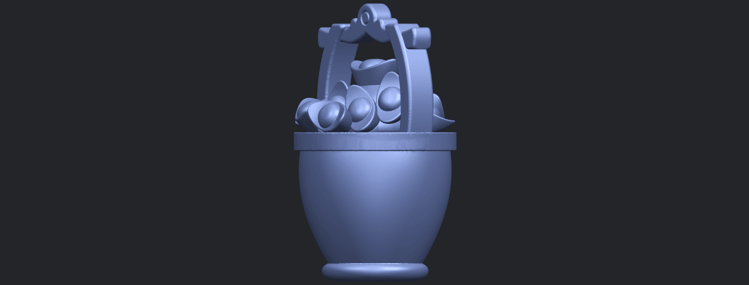 13_TDA0502_Gold_in_BucketB08.png Download free STL file Gold in Bucket • 3D print object, GeorgesNikkei