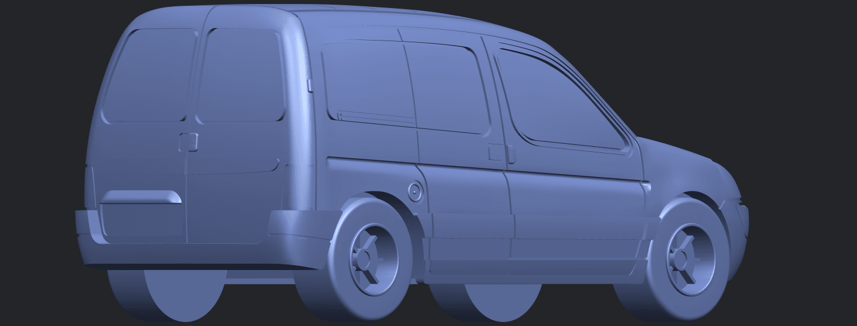 TDB002_1-50A05.png Download free STL file Citroen Berlingo Belgium Post • Design to 3D print, GeorgesNikkei