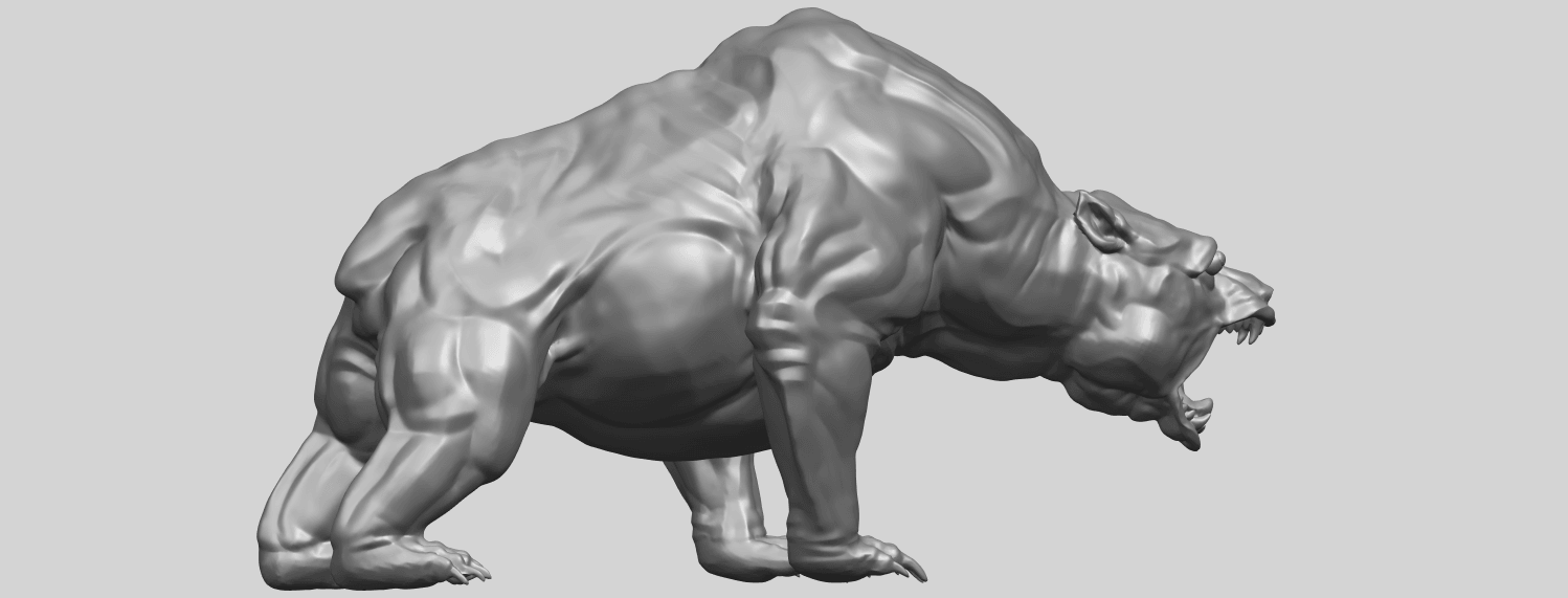 15_TDA0744_Bear_02A06.png Download free STL file  Bear 02 • 3D print model, GeorgesNikkei