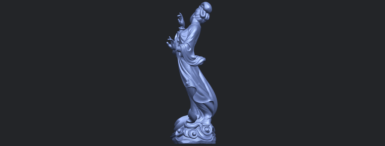 01_TDA0448_Fairy_03B04.png Download free STL file Fairy 03 • 3D printable object, GeorgesNikkei