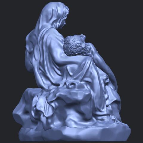 05_TDA0238_La_PietaB08.png Télécharger fichier STL gratuit La Pieta • Modèle pour impression 3D, GeorgesNikkei