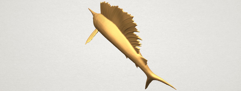 TDA0572 Swordfish 02 A08.png Télécharger fichier STL gratuit Espadon 02 • Objet pour impression 3D, GeorgesNikkei