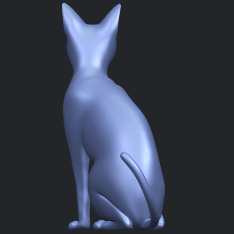 02_TDA0576_Cat_01B06.png Télécharger fichier STL gratuit Chat 01 • Modèle pour imprimante 3D, GeorgesNikkei