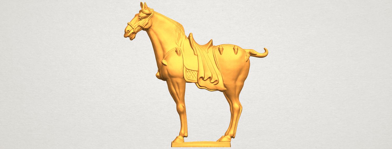 A01.png Télécharger fichier STL gratuit Cheval 08 • Plan à imprimer en 3D, GeorgesNikkei