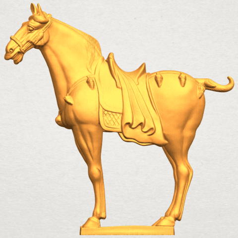 A01.png Download free STL file Horse 08 • Design to 3D print, GeorgesNikkei