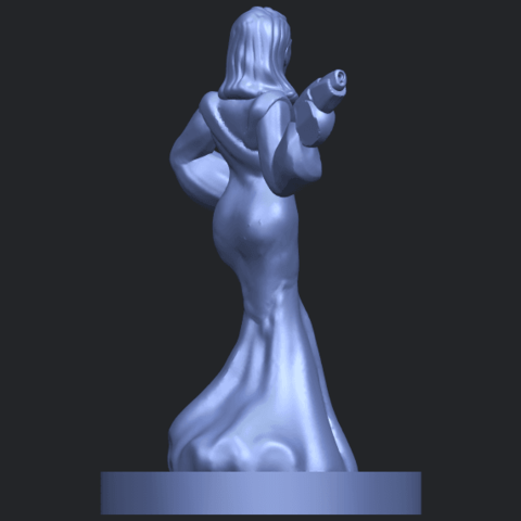 12_TDA0160_Beautiful_Anime_Girls_05_-_88mmB08.png Download free STL file Beautiful Anime Girl 05 • Template to 3D print, GeorgesNikkei