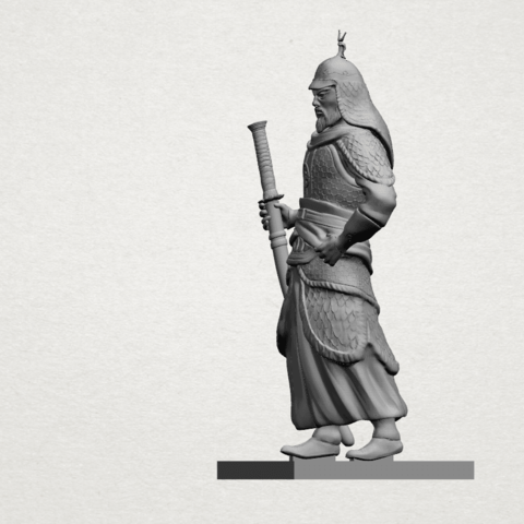 Age of Empire - warrior -A03.png Download free STL file Age of Empire - warrio • 3D print design, GeorgesNikkei