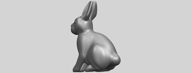 TDA0755_Rabbit_03A02.png Télécharger fichier STL gratuit Lapin 03 • Design à imprimer en 3D, GeorgesNikkei