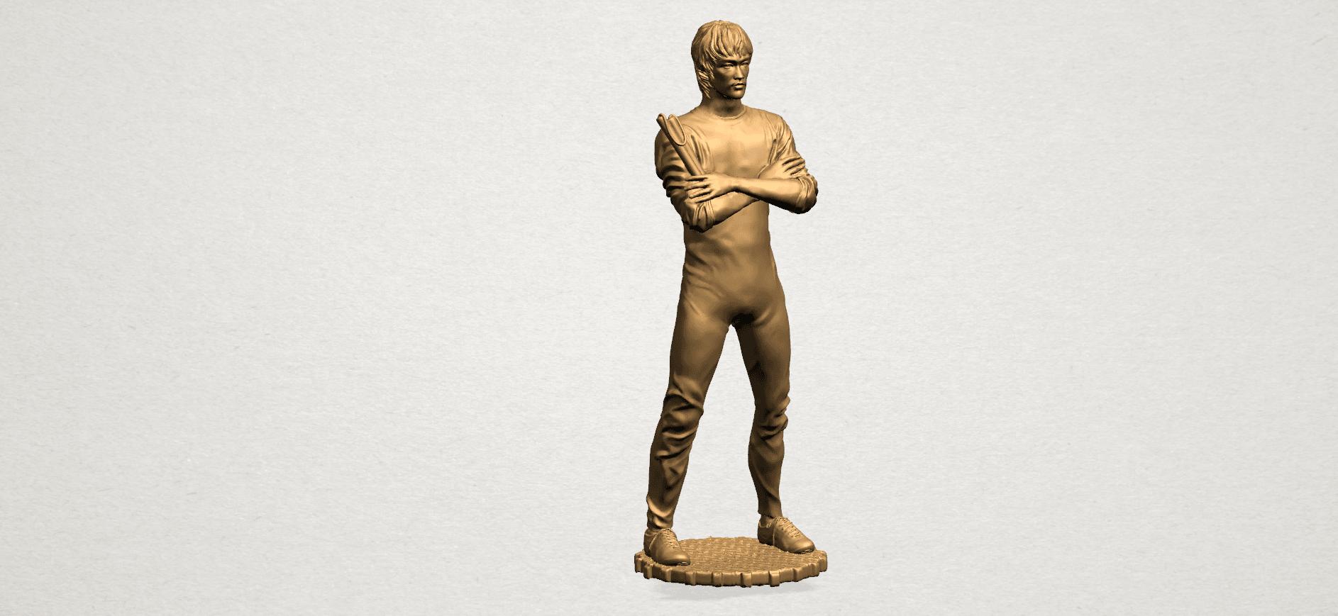 Bruce Lee B01.png Télécharger fichier STL gratuit Bruce Lee • Design à imprimer en 3D, GeorgesNikkei