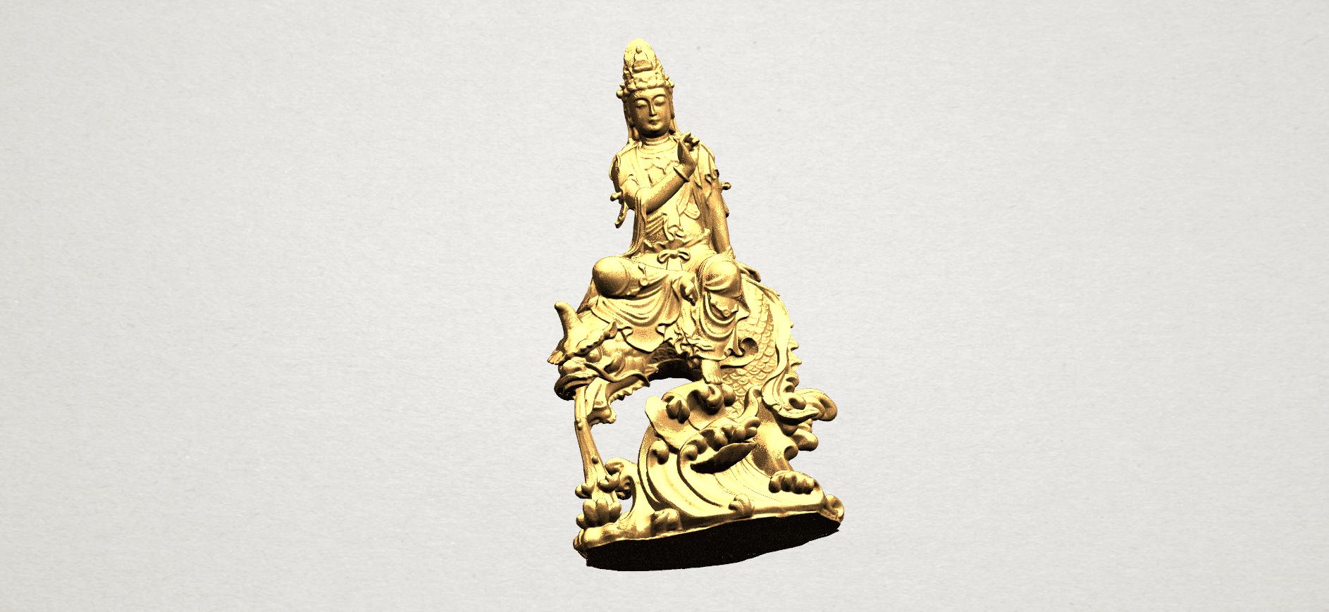 Avalokitesvara Bodhisattva (with fish) 88mm - A10.png Télécharger fichier 3DS gratuit Avalokitesvara Bodhisattva (avec poisson) 01 • Modèle imprimable en 3D, GeorgesNikkei