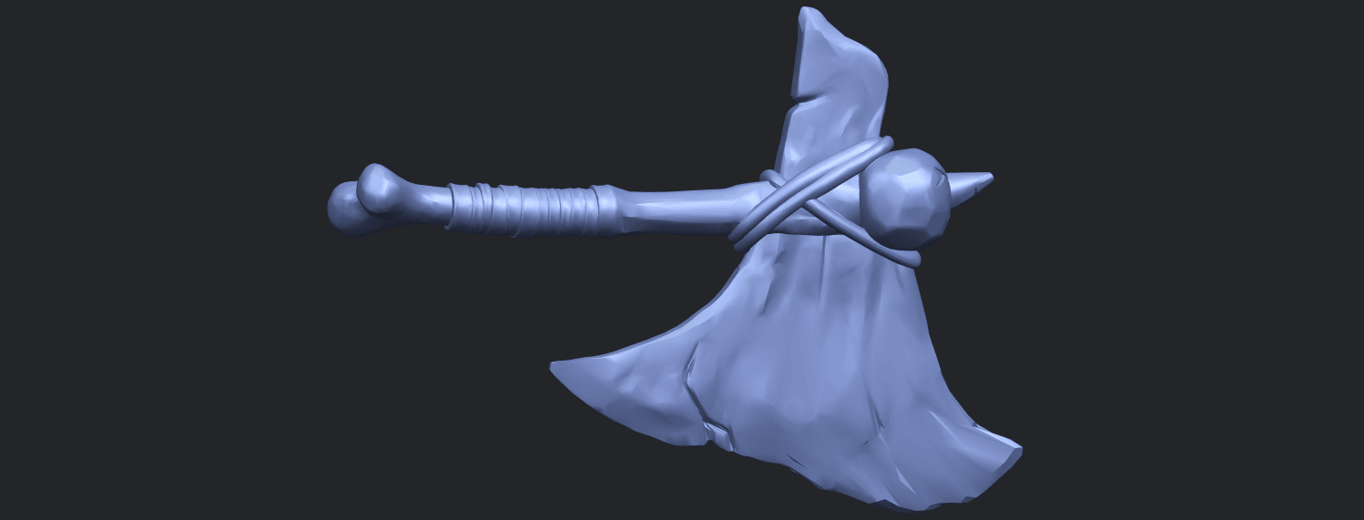 30_TDA0541_Pirate_AxeB06.png Download free STL file Pirate Axe • 3D printer template, GeorgesNikkei