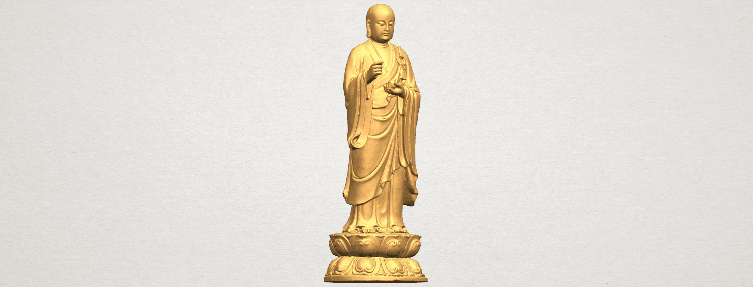 TDA0495 The Medicine Buddhav A08.png Download free STL file The Medicine Buddha • 3D print object, GeorgesNikkei