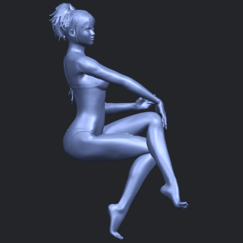 20_TDA0664_Naked_Girl_H02B02.png Download free STL file Naked Girl H02 • 3D print object, GeorgesNikkei