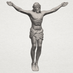 Free stl files Jesus 01 - top, GeorgesNikkei