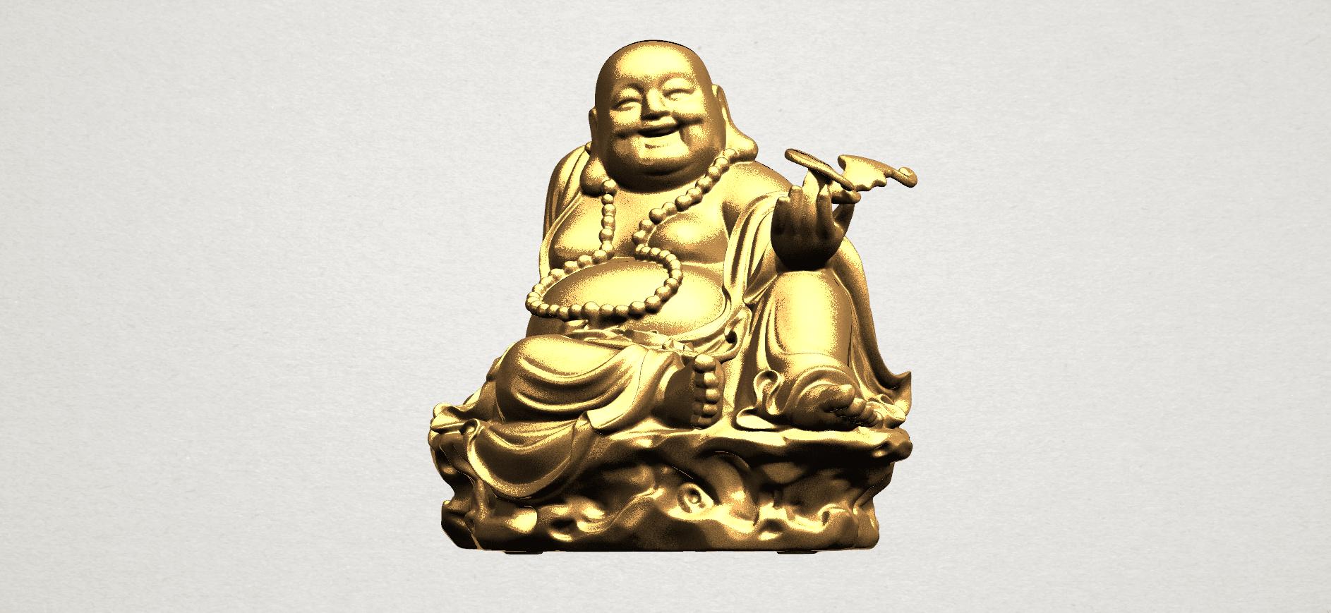 Metteyya Buddha 06 - A01.png Download free STL file Metteyya Buddha 06 • 3D print model, GeorgesNikkei