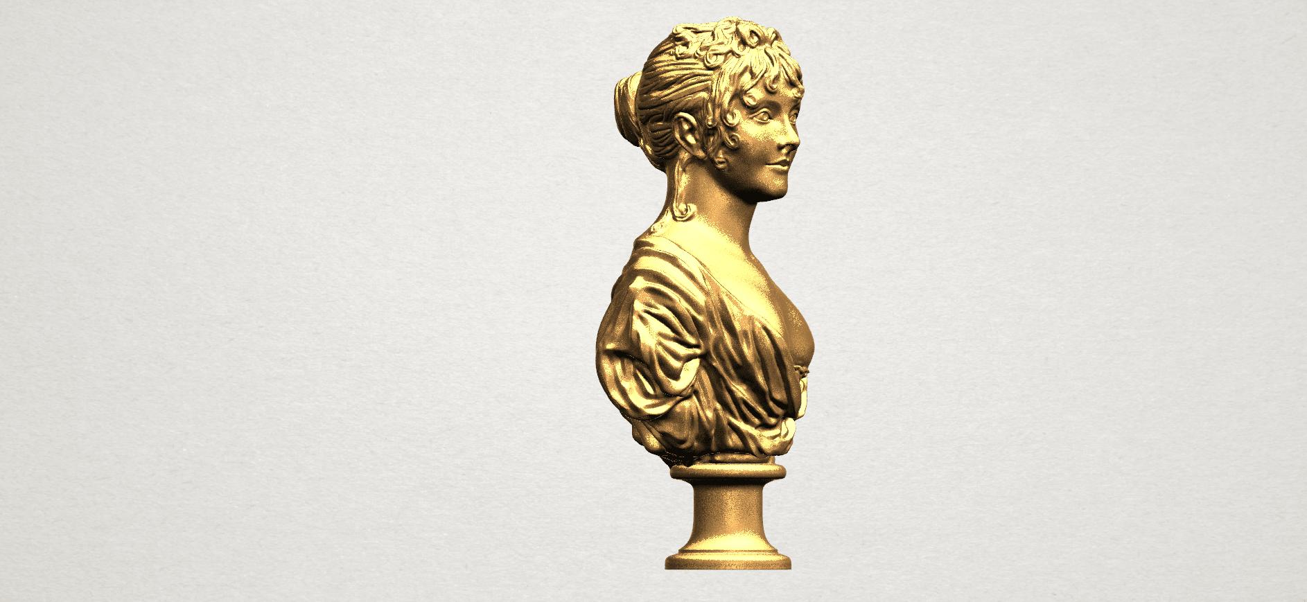 Bust of a girl 01 A06.png Télécharger fichier STL gratuit Buste d'une fille 01 • Modèle à imprimer en 3D, GeorgesNikkei