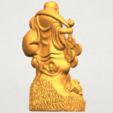 TDA0329 Metteyya Buddha 09 A06.png Télécharger fichier STL gratuit Bouddha Metteyya 09 • Modèle imprimable en 3D, GeorgesNikkei