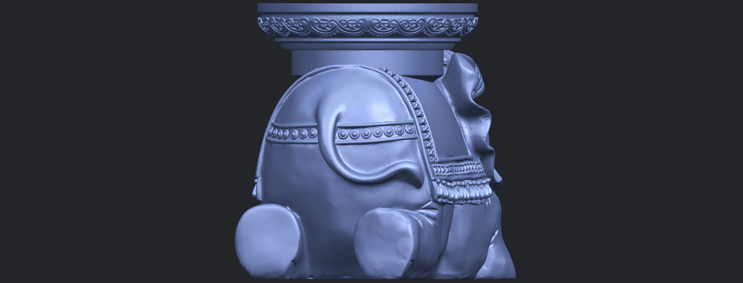 11_TDA0501_Elephant_TableB06.png Download free STL file Elephant Table • 3D printing object, GeorgesNikkei