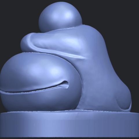 03_TDA0346_Little_MonkB05.png Download free STL file Little Monk 02 • Design to 3D print, GeorgesNikkei