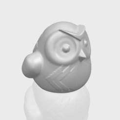 3d printer designs Owl 05, Miketon