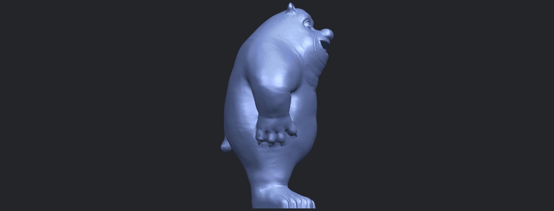 14_TDA0561_Bear_SeniorB09.png Télécharger fichier STL gratuit Bear Senior • Plan imprimable en 3D, GeorgesNikkei