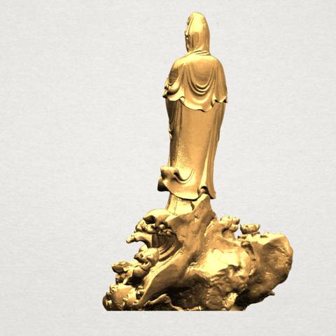 Avalokitesvara Buddha - Standing (ii) A05.png Download free STL file Avalokitesvara Bodhisattva - Standing 02 • Design to 3D print, GeorgesNikkei