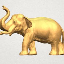 Download free 3D printing designs Elephant 06, GeorgesNikkei