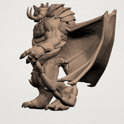 Monster (i) A03.png Download free STL file Monster 01 • 3D printable template, GeorgesNikkei