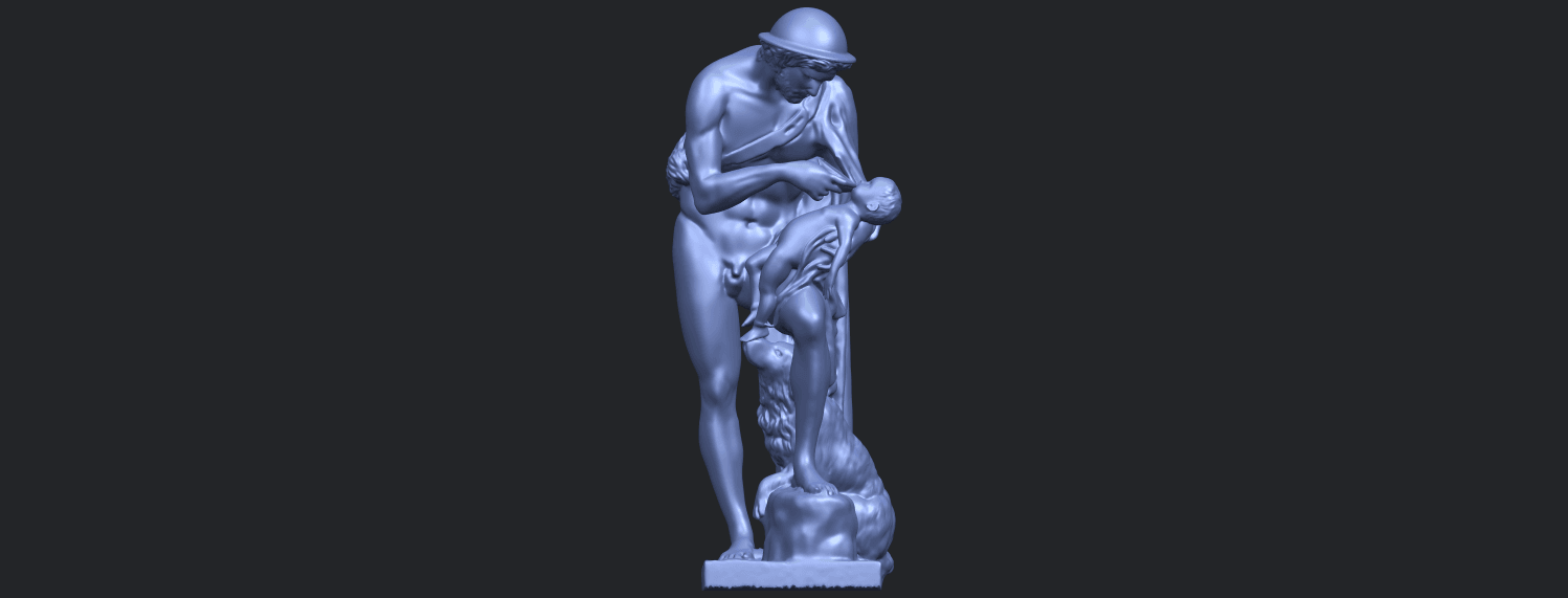 20_TDA0221_Father_and_Son_(iii)_88mmB01.png Download free STL file Father and Son 3 • 3D print model, GeorgesNikkei