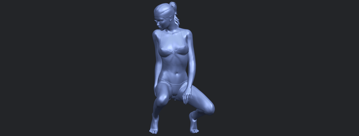 15_TDA0634_Naked_Girl_D04B02.png Download free STL file Naked Girl D04 • 3D printable template, GeorgesNikkei