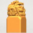 A07.png Télécharger fichier STL gratuit Timbre Dragon 01 • Objet à imprimer en 3D, GeorgesNikkei