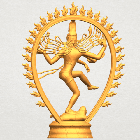 A06.png Download free STL file Shiva King • 3D printing template, GeorgesNikkei