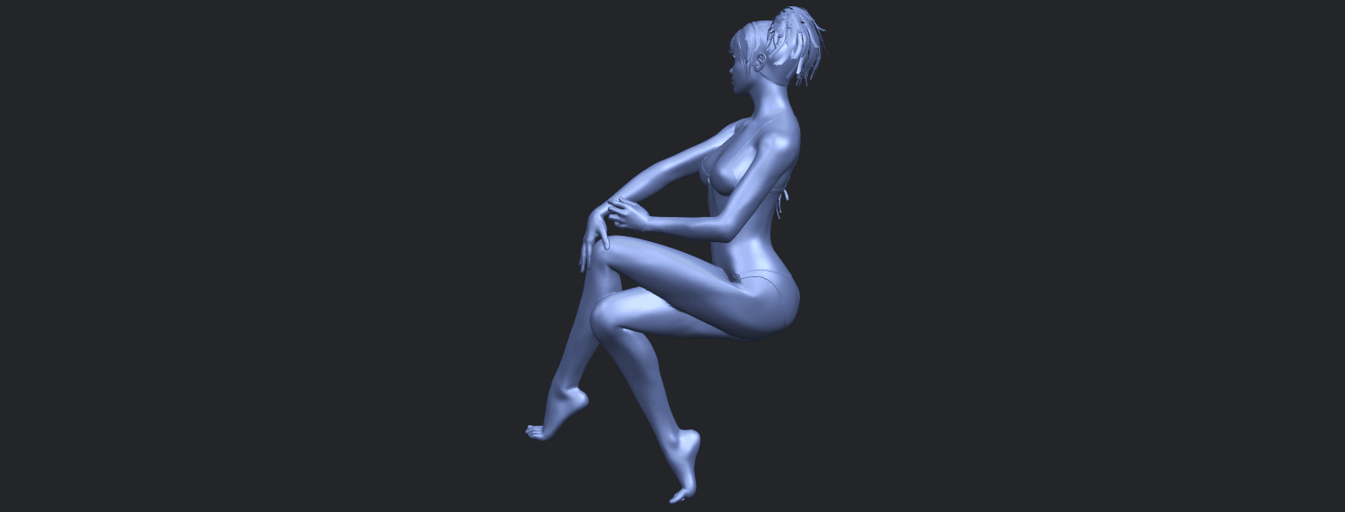 20_TDA0664_Naked_Girl_H02B07.png Download free STL file Naked Girl H02 • 3D print object, GeorgesNikkei