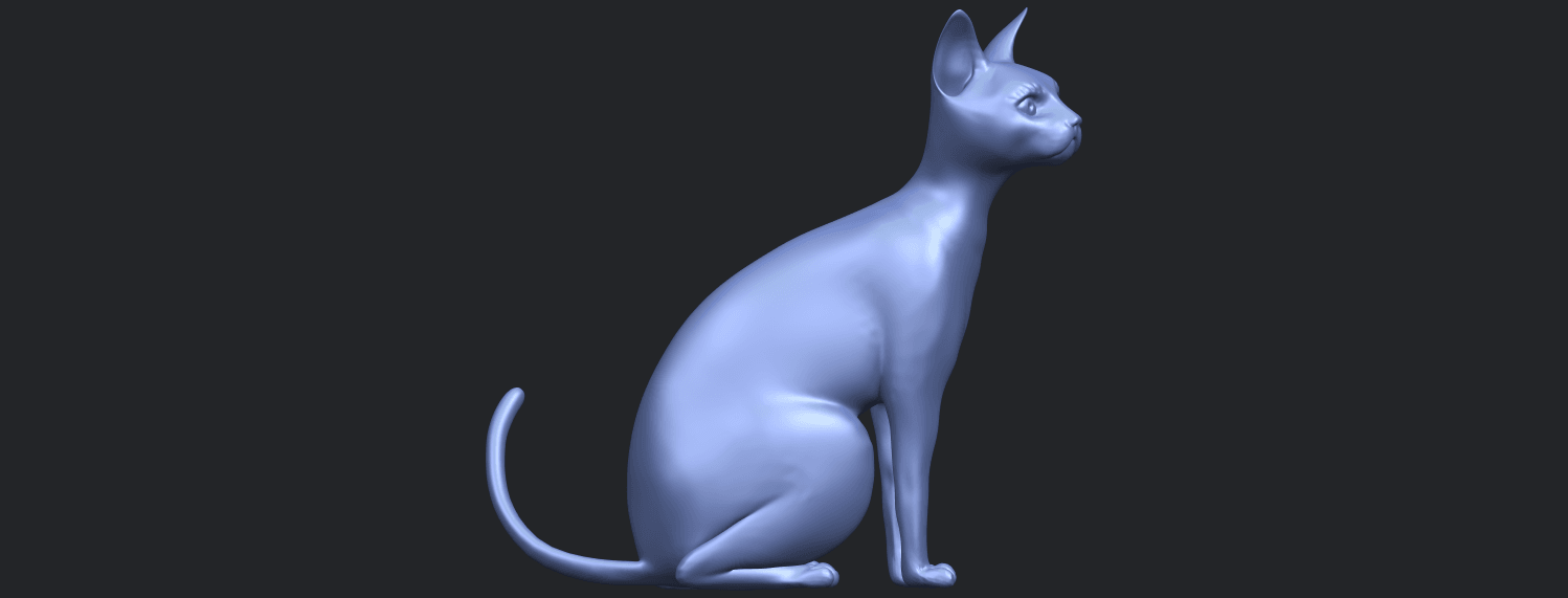 02_TDA0576_Cat_01B09.png Download free STL file Cat 01 • Design to 3D print, GeorgesNikkei