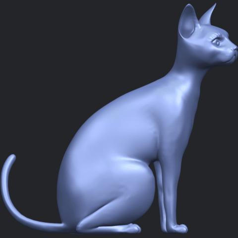 02_TDA0576_Cat_01B09.png Télécharger fichier STL gratuit Chat 01 • Modèle pour imprimante 3D, GeorgesNikkei