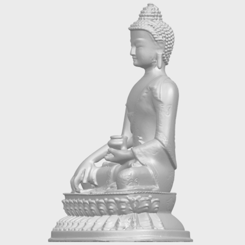 15_TDA0173_Thai_Buddha_(iii)_88mmA03.png Download free STL file Thai Buddha 03 • 3D printing object, GeorgesNikkei