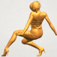 A05.png Download free STL file Naked Girl G10 • 3D printable template, GeorgesNikkei