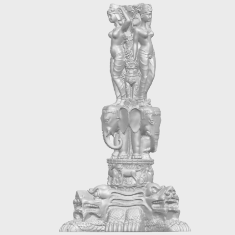 09_Thai_Elephant_Tower_80mm_-_A01A03.png Télécharger fichier STL gratuit Tour de l'éléphant thaïlandais • Modèle pour impression 3D, GeorgesNikkei