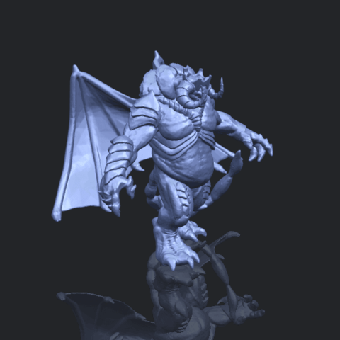 18_TDA0217_Monster_iB00-1.png Download free STL file Monster 01 • 3D printable template, GeorgesNikkei